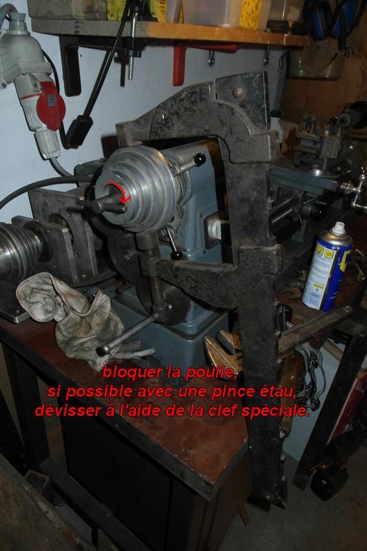 entretien d'un tour scintilla LESTO GD 118A (tour à bois et métaux) 04-les10