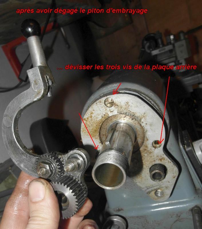 entretien d'un tour scintilla LESTO GD 118A (tour à bois et métaux) 06-les10