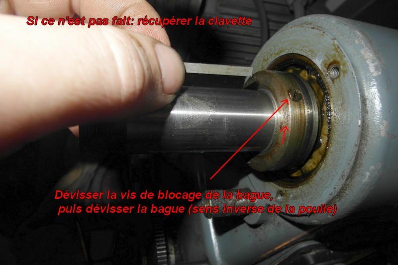 entretien d'un tour scintilla LESTO GD 118A (tour à bois et métaux) 07-les10