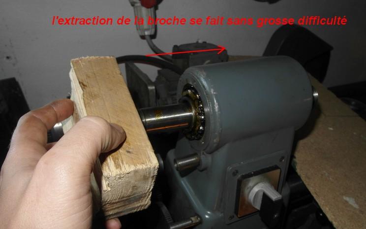 entretien d'un tour scintilla LESTO GD 118A (tour à bois et métaux) 08-les10