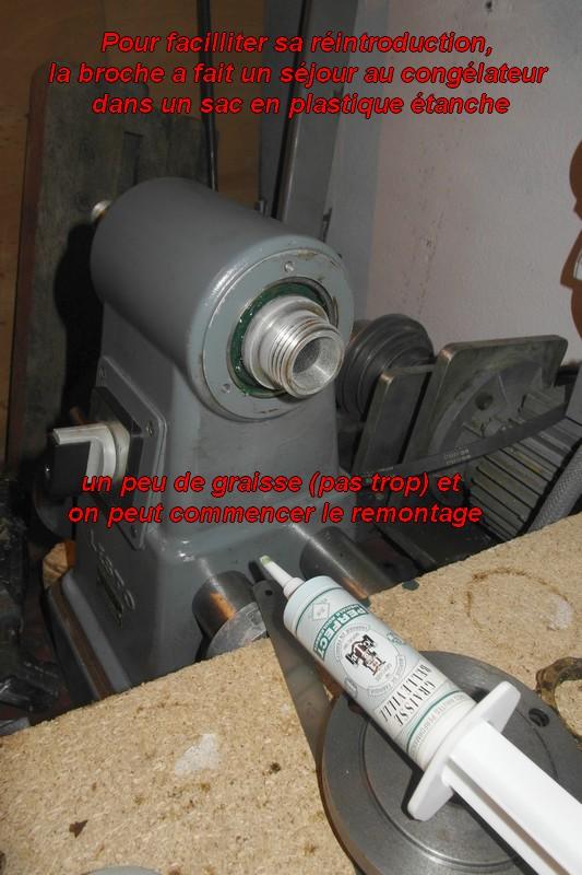 entretien d'un tour scintilla LESTO GD 118A (tour à bois et métaux) 09-les10