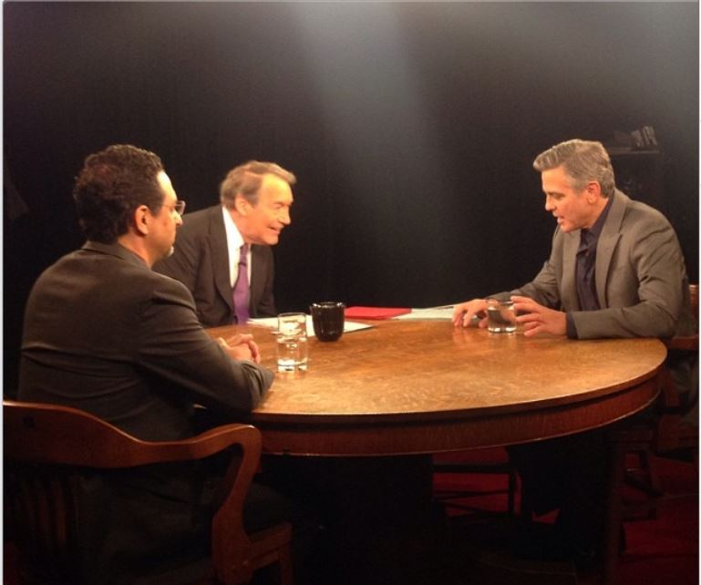 George Clooney interview with Charlie Rose Charli10