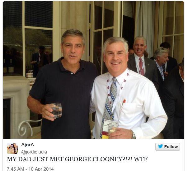New Sighting - George Clooney Casamigos Function Las Vegas (the Venetian) April 9 2014 Cloone24