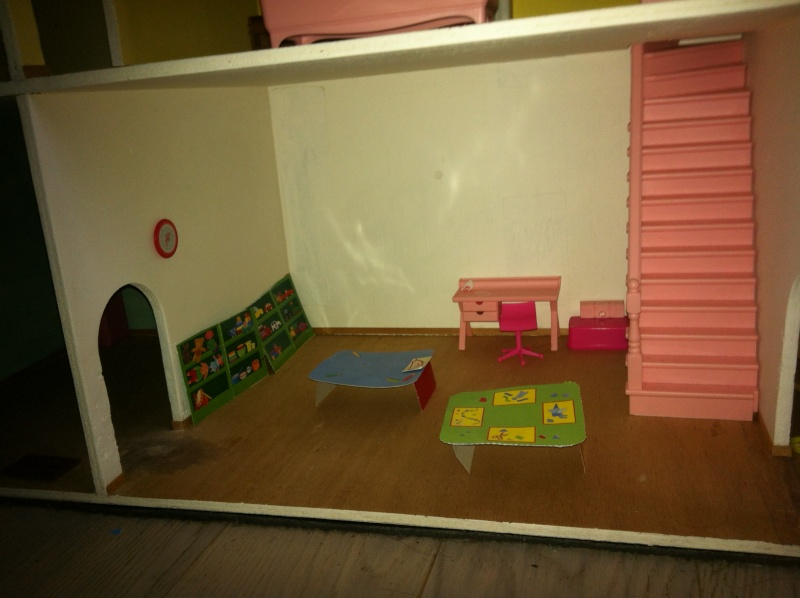 la maison de ma schtroumpfette Maison22