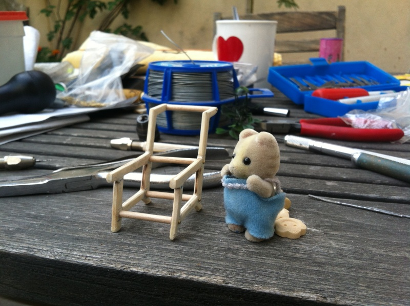 Bricolonours - Elle voulait une poussette pour son bébé lapinou... Pousse17