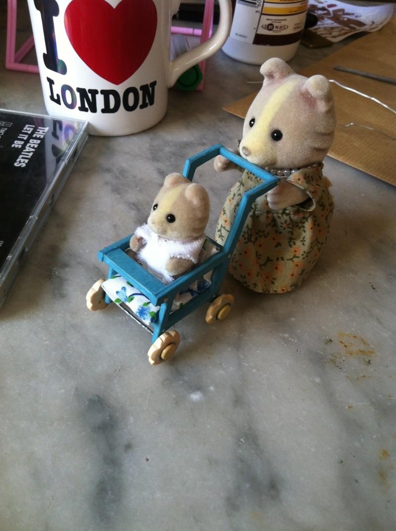 Bricolonours - Elle voulait une poussette pour son bébé lapinou... Pousse22