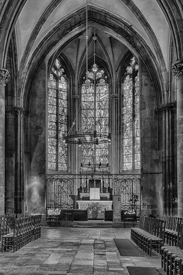 Une des nefs de Metz  Nef-me13
