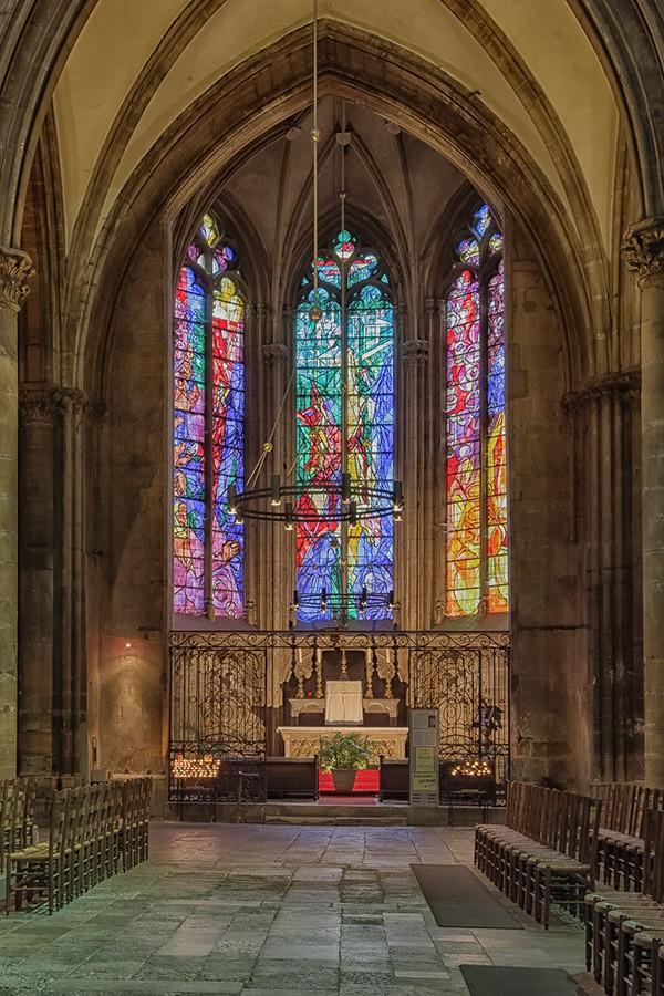 Une des nefs de Metz  Nef-me15
