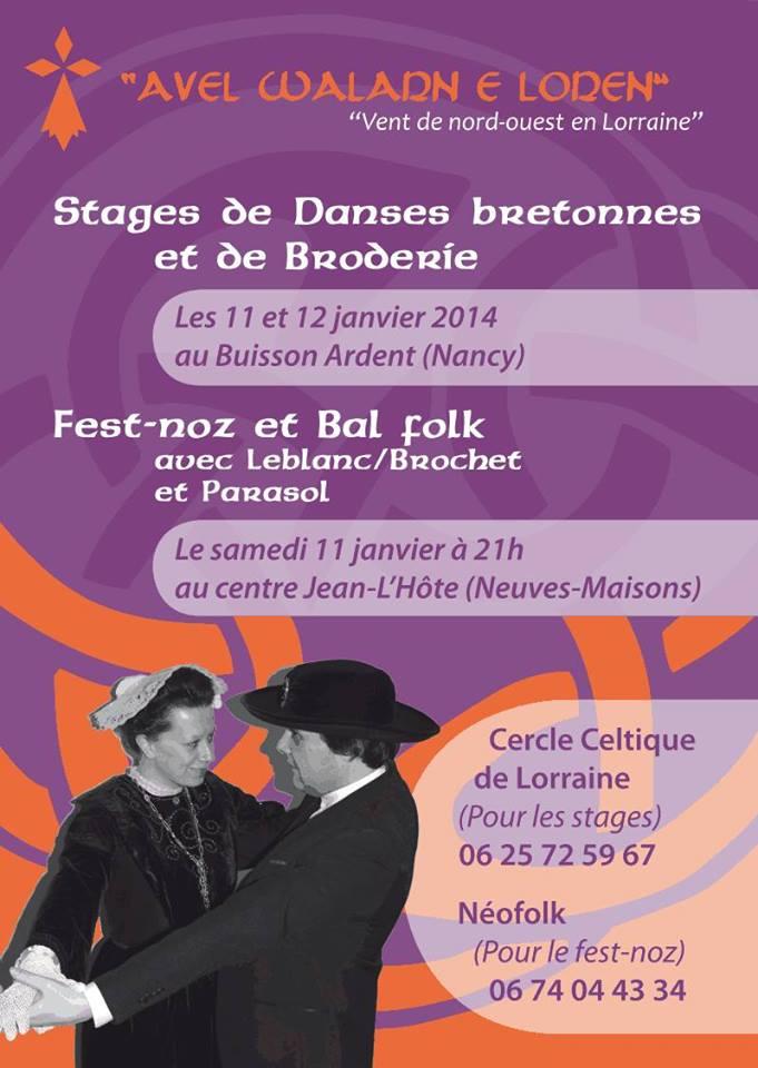 Stages de broderie et de danses bretonnes Stage10