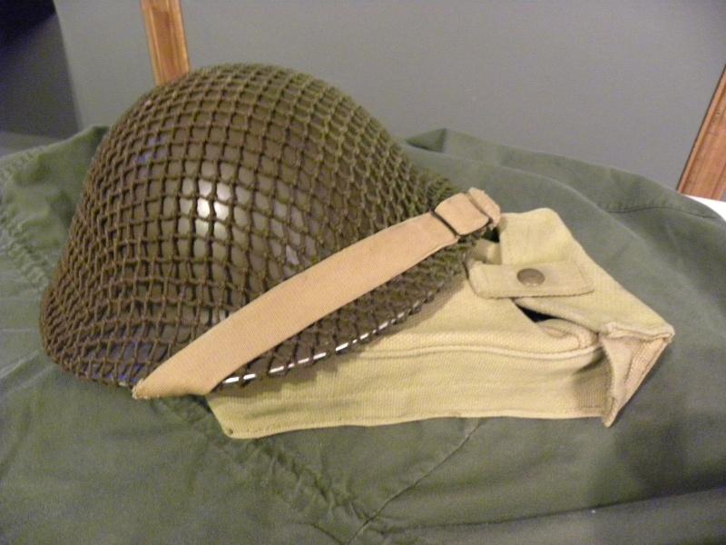 MKII helmet 1942 with net  Dscn8722