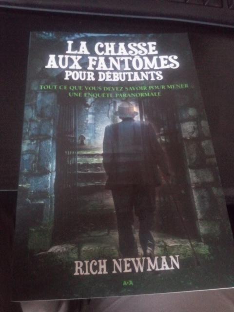 Livre : La Chasse aux fantômes pour les débutants 2013-110