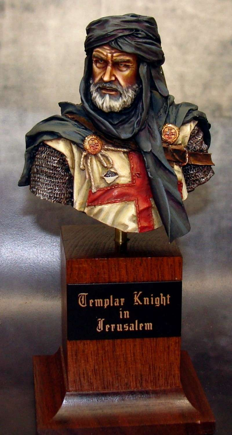 YOUNG MINIATURES -YH 1827- KNIGHT TEMPLAR IN JERUSALEM Img53410