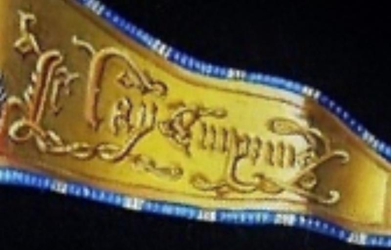 bannière de Bourgogne - Sainte Marguerite - plat 30mm New_pi16