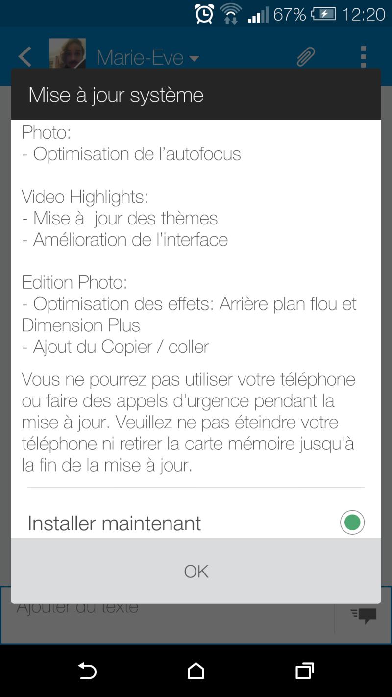 [DISCUSSION] Mise à jour du HTC One M8 Screen11