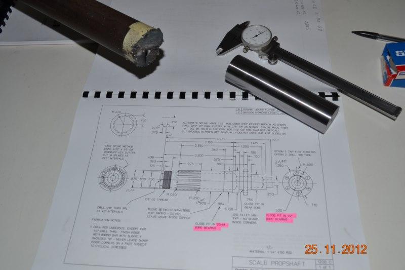 Construction du Rolls-Royce Merlin à l'échelle 1/4 38_80010
