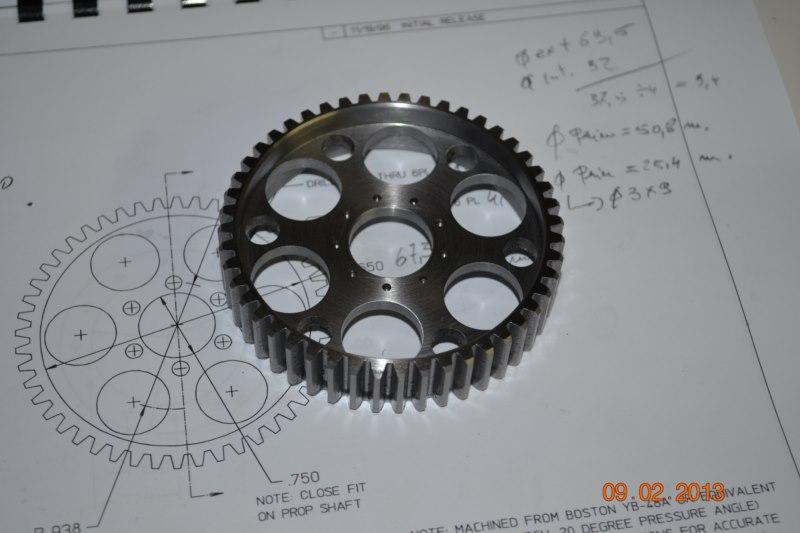 Construction du Rolls-Royce Merlin à l'échelle 1/4 - Page 2 68_80010