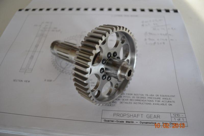 Construction du Rolls-Royce Merlin à l'échelle 1/4 - Page 2 71_80010