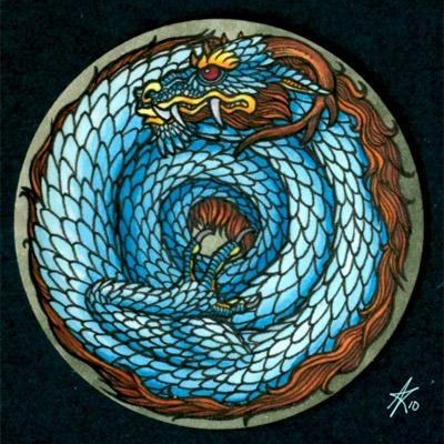Le Cercle des Artiste Saugrenus Dragon10