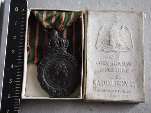 Les rubans de la médaille de Sainte Hélène. Nap_bo10