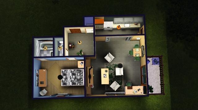 [Clos] The Dada apartment - Page 3 Vue_en11