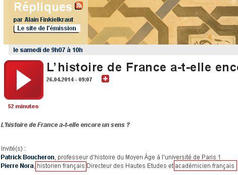 Finkielkraut et l'histoire de France... - Page 5 Repli210