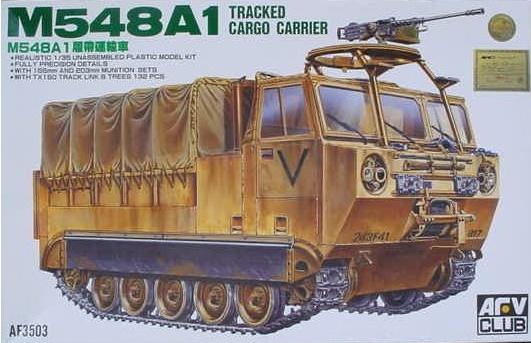 M548A1 au 1/35 de AFV CLUB 2014-035
