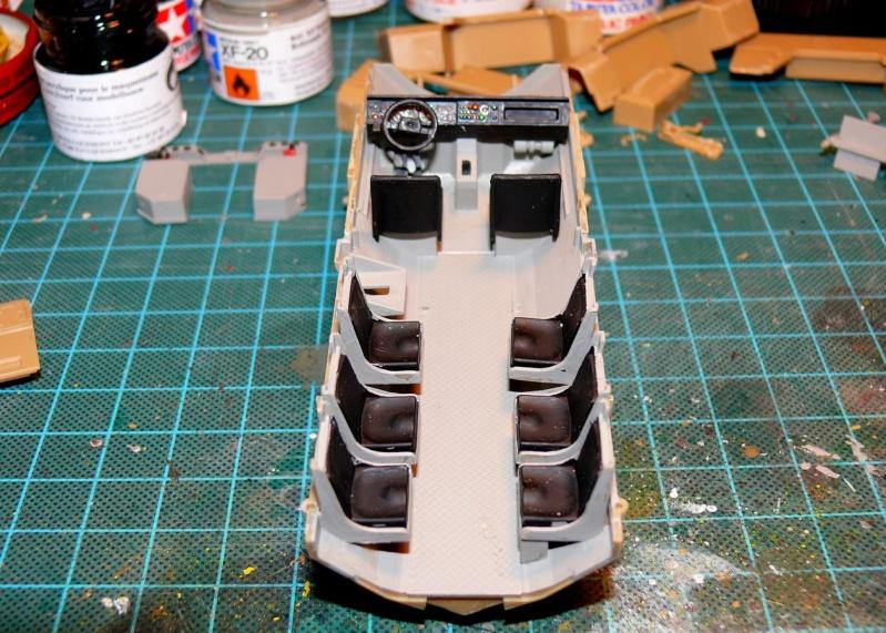 RG 31 MK3 US ARMY MINE-PROTECTED ARMORED PERSONNEL CARRIER de Kinétic au 1/35 ème Photo104