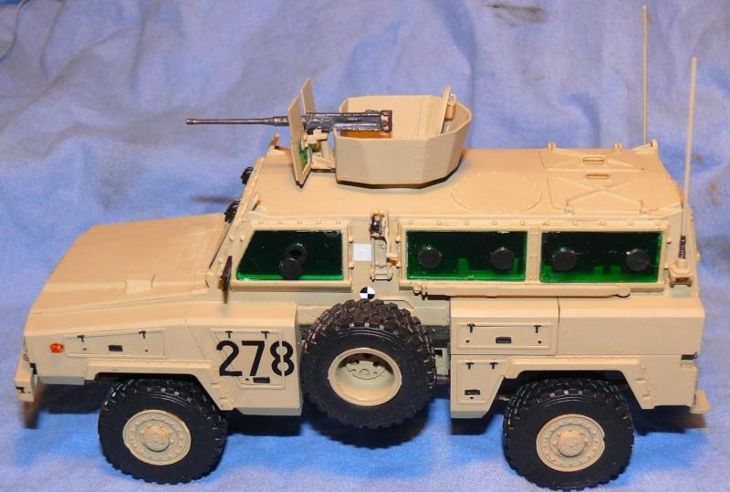 RG 31 MK3 US ARMY MINE-PROTECTED ARMORED PERSONNEL CARRIER de Kinétic au 1/35 ème Photo207