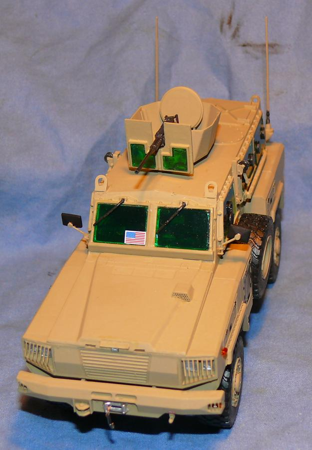 RG 31 MK3 US ARMY MINE-PROTECTED ARMORED PERSONNEL CARRIER de Kinétic au 1/35 ème Photo298