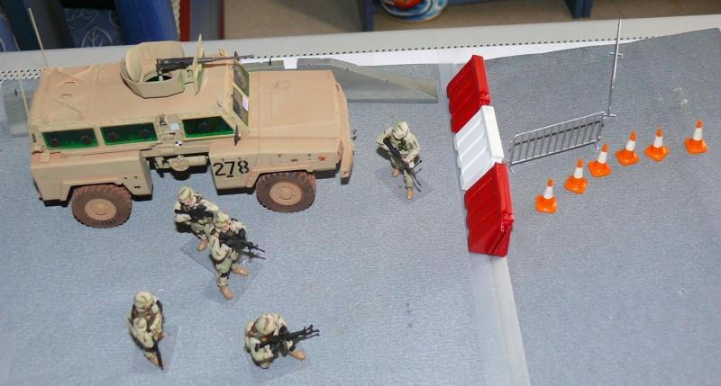 RG 31 MK3 US ARMY MINE-PROTECTED ARMORED PERSONNEL CARRIER de Kinétic au 1/35 ème Photo301
