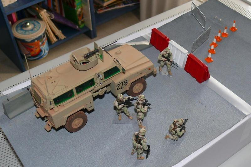 RG 31 MK3 US ARMY MINE-PROTECTED ARMORED PERSONNEL CARRIER de Kinétic au 1/35 ème Photo302