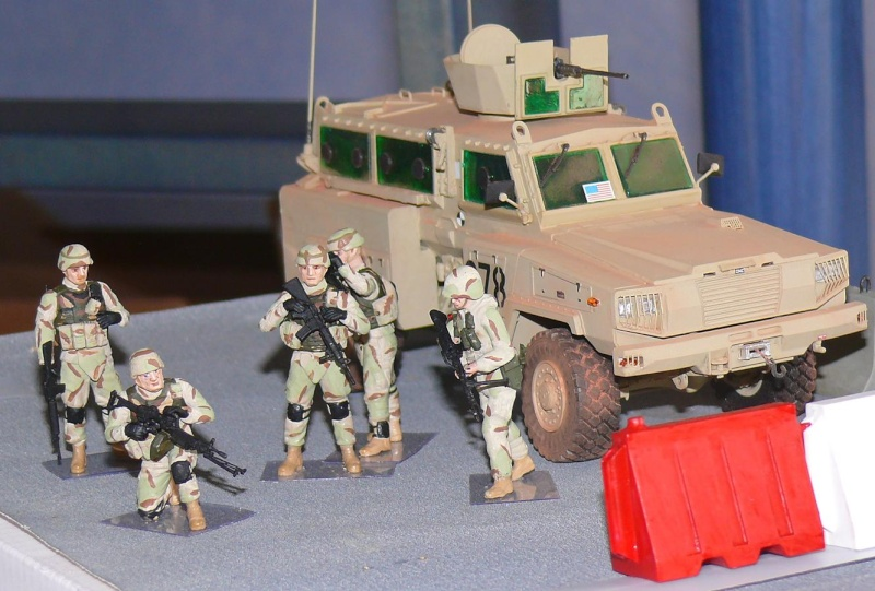RG 31 MK3 US ARMY MINE-PROTECTED ARMORED PERSONNEL CARRIER de Kinétic au 1/35 ème Photo303