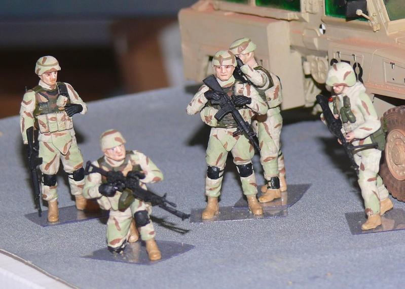 RG 31 MK3 US ARMY MINE-PROTECTED ARMORED PERSONNEL CARRIER de Kinétic au 1/35 ème Photo305