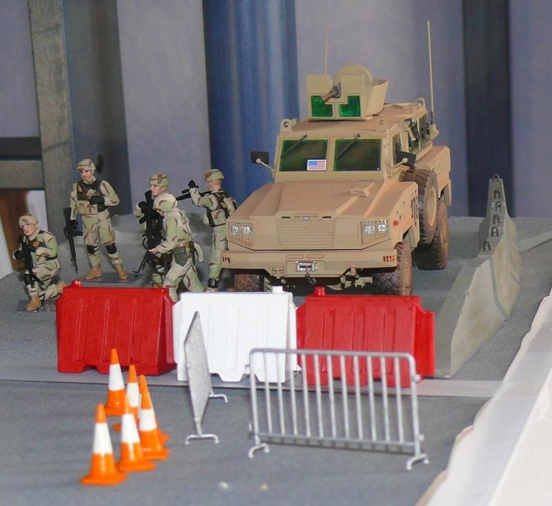 RG 31 MK3 US ARMY MINE-PROTECTED ARMORED PERSONNEL CARRIER de Kinétic au 1/35 ème Photo307