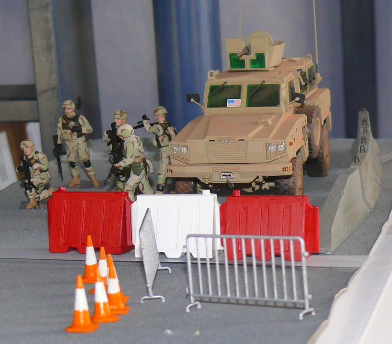 RG 31 MK3 US ARMY MINE-PROTECTED ARMORED PERSONNEL CARRIER de Kinétic au 1/35 ème Photo308