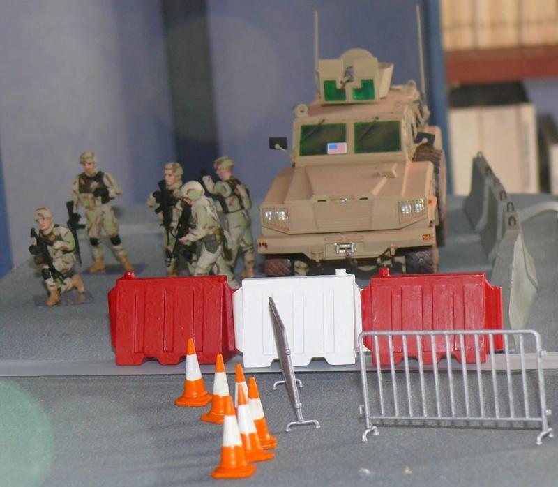 RG 31 MK3 US ARMY MINE-PROTECTED ARMORED PERSONNEL CARRIER de Kinétic au 1/35 ème Photo309