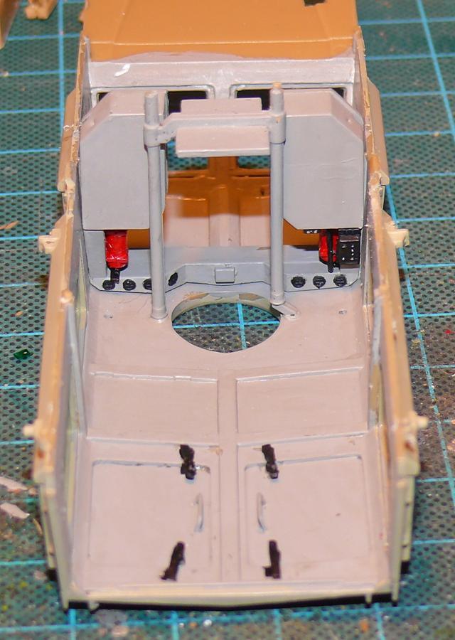 RG 31 MK3 US ARMY MINE-PROTECTED ARMORED PERSONNEL CARRIER de Kinétic au 1/35 ème Photo381