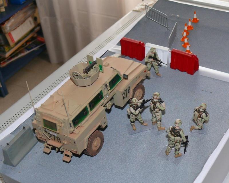 RG 31 MK3 US ARMY MINE-PROTECTED ARMORED PERSONNEL CARRIER de Kinétic au 1/35 ème Photo386
