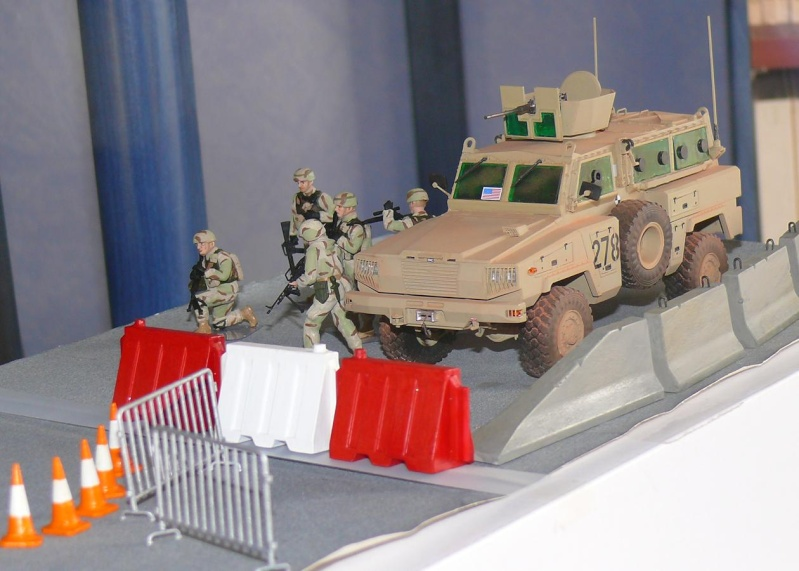 RG 31 MK3 US ARMY MINE-PROTECTED ARMORED PERSONNEL CARRIER de Kinétic au 1/35 ème Photo388