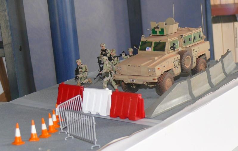 RG 31 MK3 US ARMY MINE-PROTECTED ARMORED PERSONNEL CARRIER de Kinétic au 1/35 ème Photo389