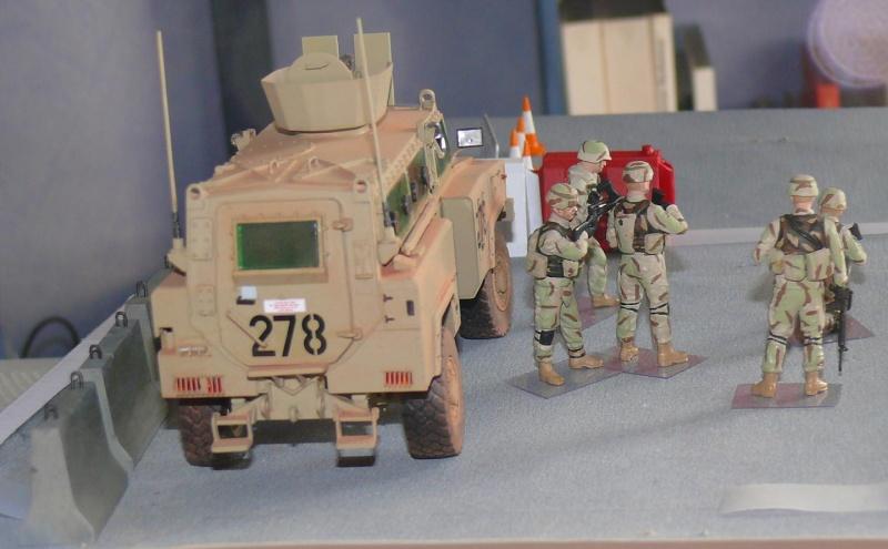 RG 31 MK3 US ARMY MINE-PROTECTED ARMORED PERSONNEL CARRIER de Kinétic au 1/35 ème Photo392