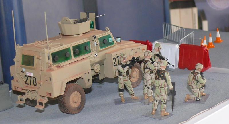 RG 31 MK3 US ARMY MINE-PROTECTED ARMORED PERSONNEL CARRIER de Kinétic au 1/35 ème Photo393