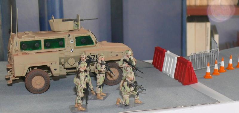 RG 31 MK3 US ARMY MINE-PROTECTED ARMORED PERSONNEL CARRIER de Kinétic au 1/35 ème Photo394
