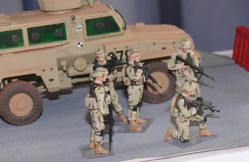 RG 31 MK3 US ARMY MINE-PROTECTED ARMORED PERSONNEL CARRIER de Kinétic au 1/35 ème Photo395