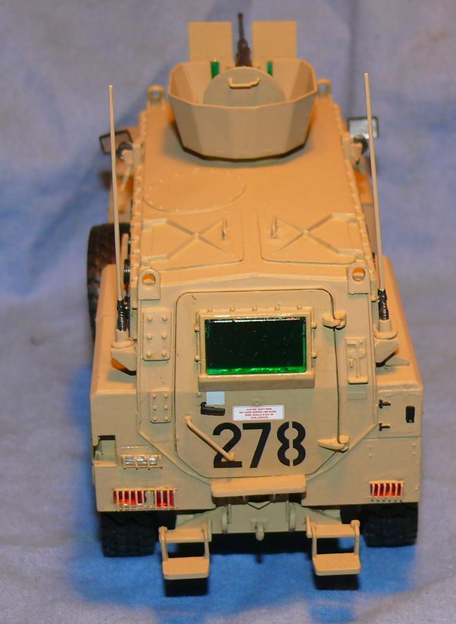 RG 31 MK3 US ARMY MINE-PROTECTED ARMORED PERSONNEL CARRIER de Kinétic au 1/35 ème Photo460