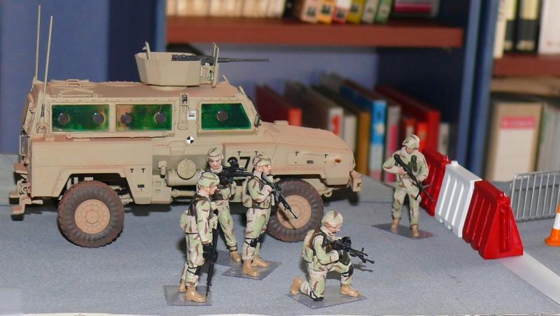 RG 31 MK3 US ARMY MINE-PROTECTED ARMORED PERSONNEL CARRIER de Kinétic au 1/35 ème Photo463