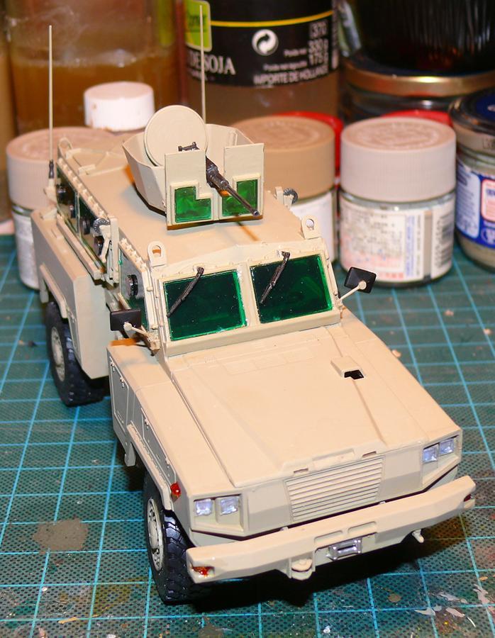 RG 31 MK3 US ARMY MINE-PROTECTED ARMORED PERSONNEL CARRIER de Kinétic au 1/35 ème Photo551