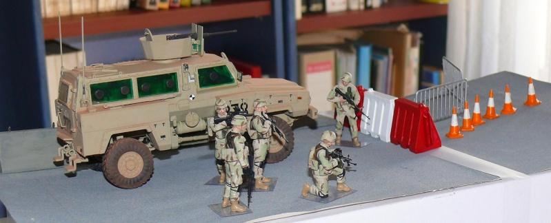 RG 31 MK3 US ARMY MINE-PROTECTED ARMORED PERSONNEL CARRIER de Kinétic au 1/35 ème Photo554