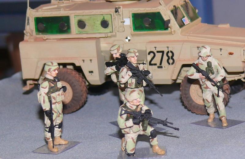 RG 31 MK3 US ARMY MINE-PROTECTED ARMORED PERSONNEL CARRIER de Kinétic au 1/35 ème Photo644