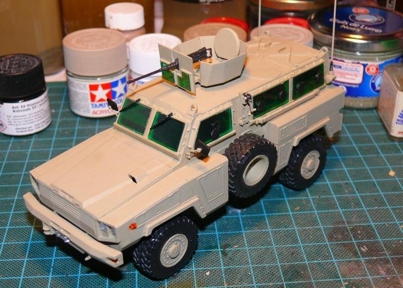 RG 31 MK3 US ARMY MINE-PROTECTED ARMORED PERSONNEL CARRIER de Kinétic au 1/35 ème Photo729